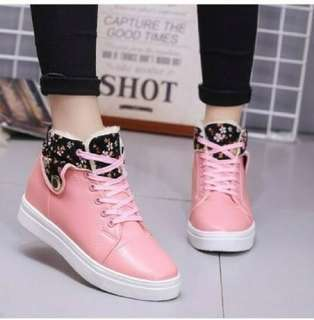 Sneakers boots wanita murah / boots kps flower 780 salem ad real picture