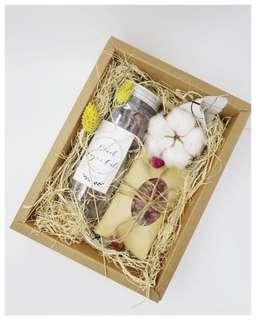 Gift box 🌹7 serving rose blacksugar cube 🌹