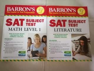 SAT Book math level 1 & literature