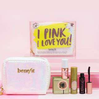 BNIB Benefit I Pink I Love You Kit (Limited Edition)