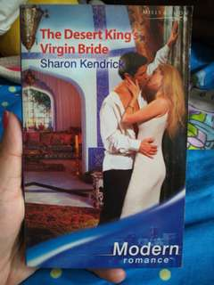 Mills and Boon The Desert King Virgin Bride