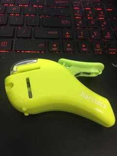 Harinacs stapleless stapler