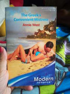Mills and Boon The Greek's Convenient Mistress