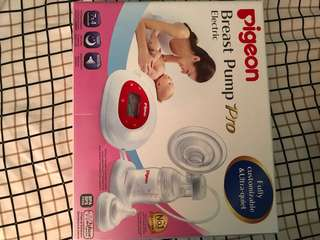 Pigeon Breast Pump Pro (Bnew) w/ FREE Pigeon Manual Pump