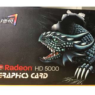 Radeon HD 5000 Graphics Card