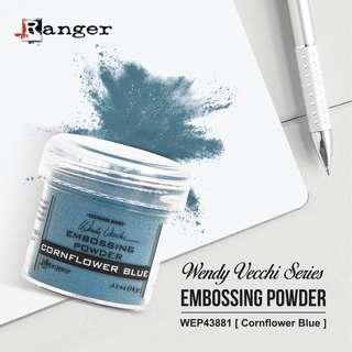 RANGER WENDY VECCHI WEP43881 Embossing Powder 1oz (34ml) - CORNFLOWER BLUE