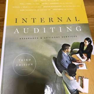 Internal auditing and assurance