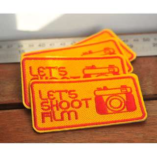 🚚 Let's Shoot Film embroidery patch - Kodak Edition
