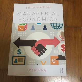 Managerial Economics (5th Edition)