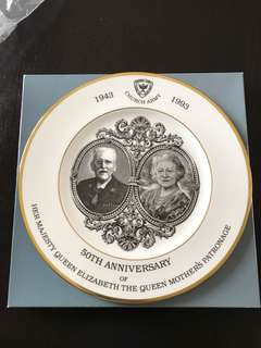 Church Army Plate - 50th anniversary