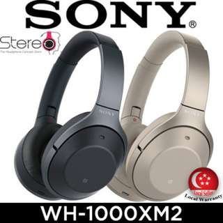 LATEST SONY WH-1000XM2 Wireless Headphone / Earphone / Noise-Cancelling / Local Set w Local Warranty