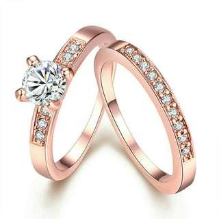 Tiaria Couple Rings