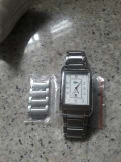Authentic lacoste watch for men