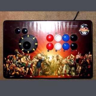 PS2 Street Fighter Anniversary Arcade Stick 大手掣