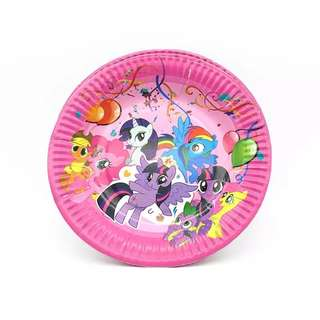 MLP My little Pony party supplies - party plates