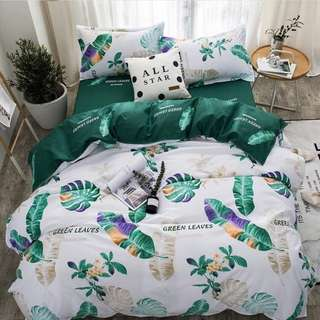 CLEARANCE- Queen size cotton Bedding Set