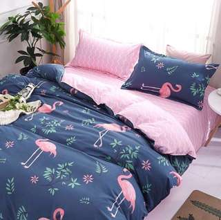 CLEARANCE- Single size cotton Bedding Set
