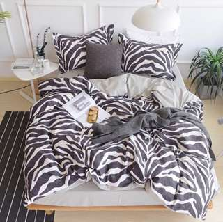 CLEARANCE- King size cotton Bedding Set