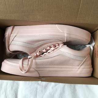 mono peach blush vans