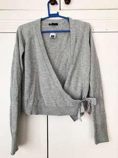 GAP KIDS GREY CARDIGAN