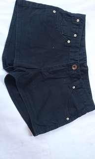 SALE black hotpants