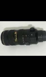 Nikon AFS 70-200mm f2.8 VR ll