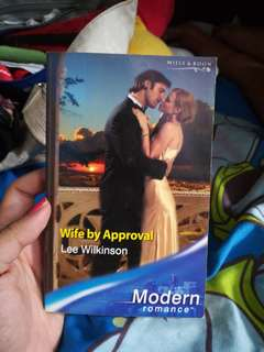 Mills and Boon Wife by Approval