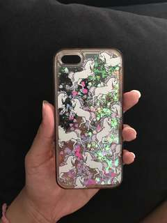 Case Iphone 5s Pegasus Unicorn Pink Purple