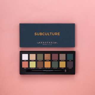 Anastasia Subculture Palette - New
