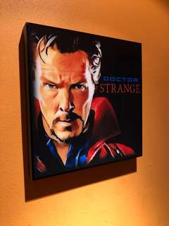 🚚 Dr Strange : Pop Art Poster Frame