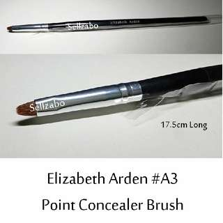 #A3 : Brush : Elizabeth Arden : Brushes : Conceal : Concealers : Spots : Point : Eyes Shadows : Eyeshadows : Eyesshadows : Black Colour : Applicators : Highlights : Face : Facial : Makeup : Cosmetics : Beauty : Tools : Sellzabo