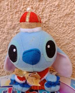 Stitch Charm with red hat