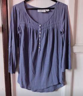H&M purple top