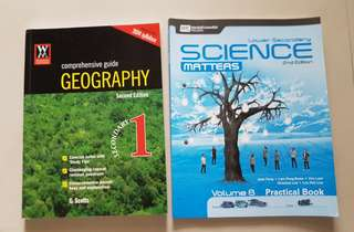 Lower Secondary Science Matters & Geography