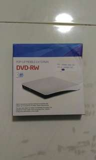 [SOLD] Portable DVD rewriter
