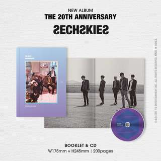 Sechskies The 20th anniversary album 水晶男孩 20周年紀念album