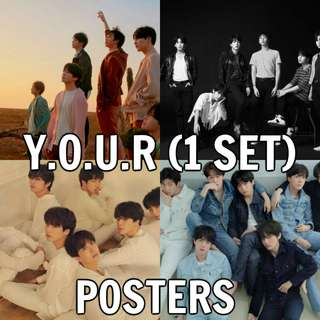 BTS Love Yourself Tear OFFICIAL POSTERS