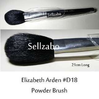 #D18 : Brush : Elizabeth Arden : Brushes : Angled : Powder : Big : Black Colour : Applicators : Cheeks : Blush : Blushers : Highlights : Bronzers : Face : Facial : Makeup : Cosmetics : Beauty : Tools : Sellzabo