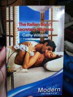 Mills  and Boon The Italian's Secretary Mistress