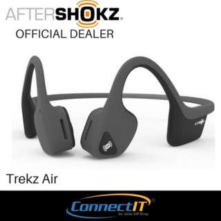 AfterShokz Trekz Air Open Ear Wireless Bone Conduction Headphone with 2 Year Warranty