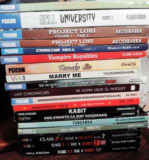 Wattpad book bundle