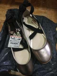Zara flat shoe