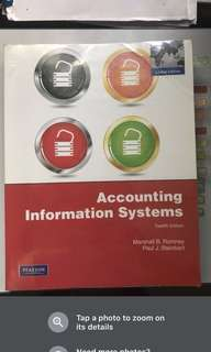 AC2401 NBS Textbook and bible Accounting Information Systems