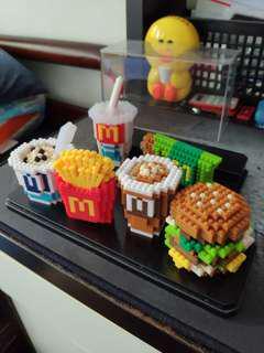 MacDonalds X Nanoblock