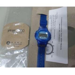 恆生銀行YEAR 2000電子手錶