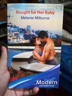 Mills and Boon Bought for her baby