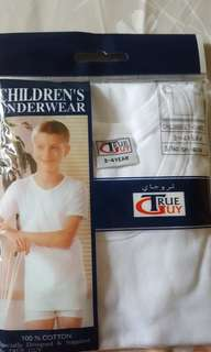 Boy's  undershirt