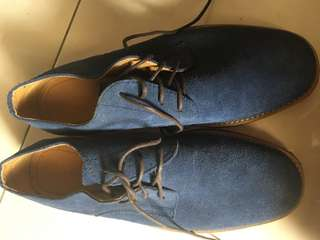 Andre Valentino Blue Suede Shoes