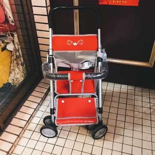 嬰兒機車椅 大部分在家小孩推著玩 少用