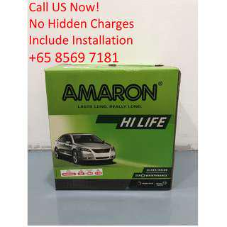 Amaron Battery Brand New (With Warranty & Installation)